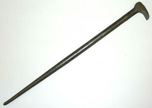 Snap on Tools 1650 Rolling Head Pry Bar Lady Foot Usa Snap On 15 Long