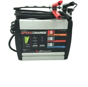 Schumacher Electric Speed Charge Battery Charger Sc 600a 6a 72 Watts 5 f3