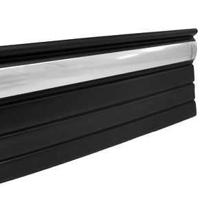 Body Side Molding Chrome And Black 3 1 4 Wide 18 Foot Roll For Silverado 99 02