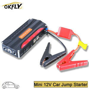 Car Jump Starter 68800mah 600a Power Bank Starting Device Jumper Cables Launcher