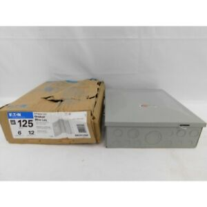 Eaton Br612l125rp Loadcenter 1ph 125a 6 12