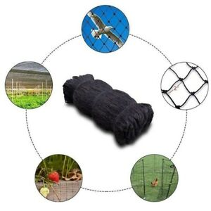 Bird Netting Poultry Plant Protection Chicken Coop Heavy Duty Fishing Net 50x50