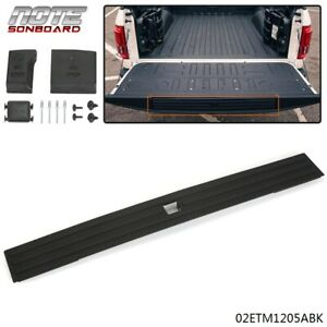 Tailgate Flexible Flex Step Pad Molding Trim W Button For 2015 2019 Ford F150