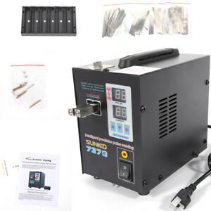 110v Sunkko 737g Battery Spot Welder Solder Welding Machine 50a 800a Us Ship