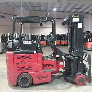 2015 Bendi B40 48i4180d Lp Powered Man Down Turret Forklifts 89 258 Quad Mast