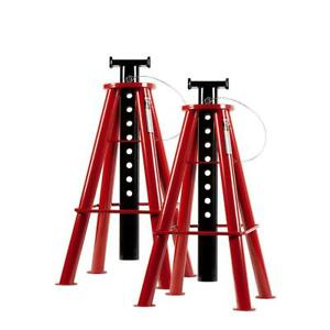 10 Ton High Top Industrial Big Rig Truck Jack Stands Tractor Trailer 46 5 Max