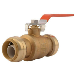 Sharkbite Ball Valve 1 Copper Cpve Or Pex 22223 lf Lead Free