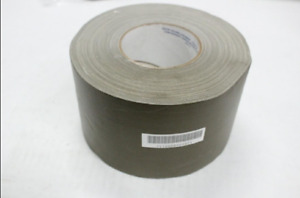 Ability One 7510 00 890 9875 Vinyl Coated Cloth Waterproof Tape 4 X 60 Yd Gray