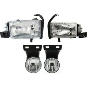Auto Light Kit For 99 2002 Dodge Ram 2500 Left And Right Kit