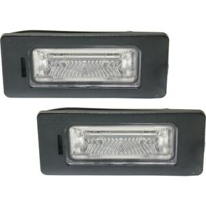 License Plate Lights Lamps Set Of 2 Rear Left And Right For Vw Vw2870110 Pair