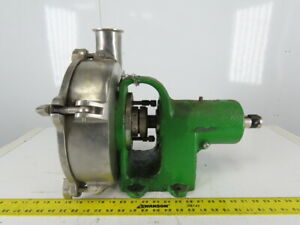 Stainless Steel Sanitary Centrifugal Pump 4 x3