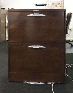 Rare Antique Vintage Yawman And Erbe Y And E 2 Drawer Metal File Cabinet