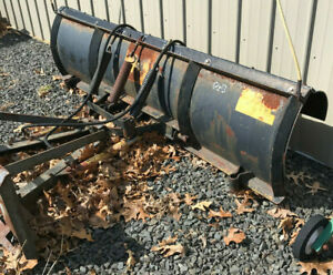 Meyer 8ft Profull Angle Snow Plow Fits Tractor Or Skid Steer Loader