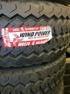 Windpower Wgc28 445 65r22 5 Wide Base Steer 1 Lot Of 2 Tires