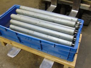 Lot Of 34 Replacement Gravity Roller Conveyors Rollers 23
