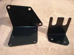 New 1955 1962 Studebaker Hydrovac Mounting Bracket Set C K Hawks With P Brakes