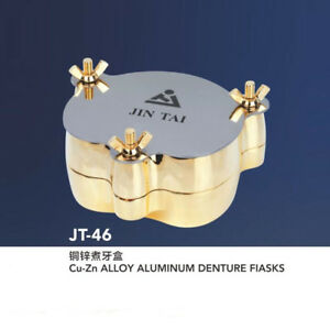 Dental Cu zn Alloy Aluminum Denture Flask Compressor Equipment Jt 46 Lmws