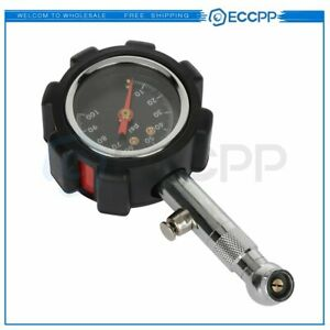 Tire Pressure Gauge 0 100 Psi Range 1 5 Dial For Most Cars High Quality