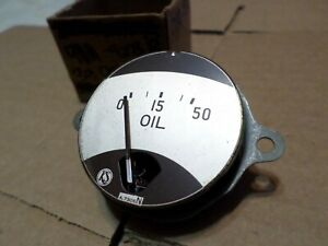 1939 Ford Deluxe Nos Dash Oil Pressure Gauge 91a 9273b
