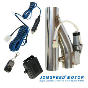 Jdmspeed 3 Electric Exhaust Downpipe Cutout E Cut Out Valve Controller Remote