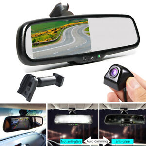 4 3 Auto Dimming Car Rear View Monitor With No1 Bracket For Toyota Car camera