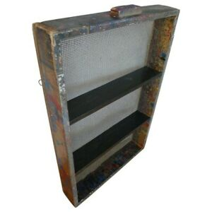Shelving Unit From Factory Paint Box Wall Mounted Cupboard Cabinet Shelves