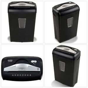 New 8 sheet Micro cut Paper Credit Card Staple Shredder High Security 3 6 gallon