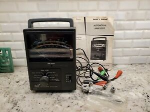 Sears Automotive Engine Analyzer With Cables And Manual Model 244 21421