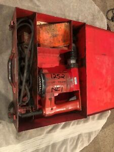 Hilti Te 22 Corded Rotary Hammer Drill With Case