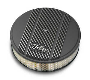 Holley 120 152 14 Round Finned Air Cleaner