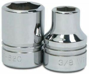 1 2 Drive Shallow Sockets 6 point Sae High polished Chrome Finish Williams
