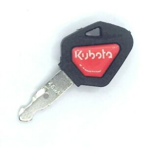 Kubota Skid Steer Track Loader Mini Excavator Ignition Key With Red Logo 459a