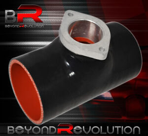 3 Turbo Type S Bov Flange Black Silicone Adapter Pipe Coupler For Jeep Wrangler