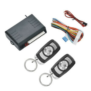 Car Remote Control Central Kit Door Lock Locking Keyless Entry System Universal