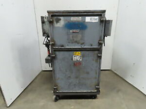 Torit Model 84 Pulse Cleaning Cartridge Dust Collector 3hp 230 460v 3 Ph