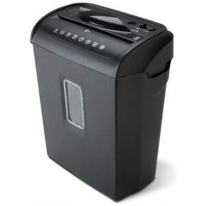 The Aurora Au608mb 6 sheet Micro cut Paper Credit Card Shredder