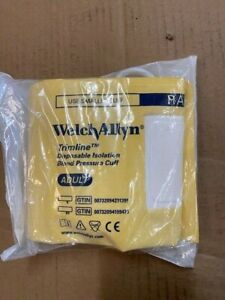 39210 Welch Allyn Cuff Tl Iso Soft Adult 2tube Bv And Gauge new
