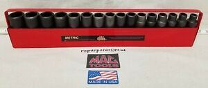 Mac Tools Usa Vdp6 1 2 Drive Deep Metric 6 Point 16 Piece Impact Socket Set