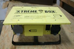 Coleman Cable 019703r02 50 Amp Xtreme box Temporary Power Distribution Center