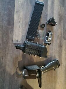 07 12 Gt500 M122 Supercharger W Injectors Intake Throttle Body