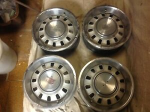 1968 Mustang Gt Oem Steel Wheels Set Of 4 With Hub Caps Used