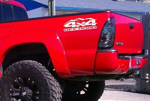 4x4 Off Road Sticker Decal Truck Fit Ford F150 Chevy Toyota Tacoma Tundra Ram Mt