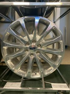 22 Ford F150 Limited Polished Wheel Factory Oem 10174