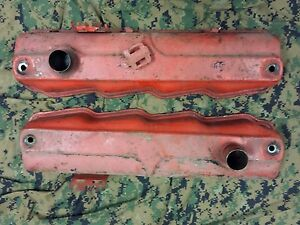 1962 62 Dodge Dart 440 330 Poly V 8 Oem Value Covers Mopar Polara Savoy B body