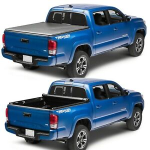 Truxedo 257001 Truxport Tonneau Roll Up Cover For 16 20 Toyota Tacoma 6 Foot Bed
