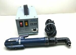 Asg Ps 55 Power Source W Tl 6500 Lever Start Electric Screw Driver 1 4 hex