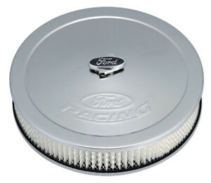 For Ford Racing Air Cleaner Kit Chrome Raised Logo 302 350 302350