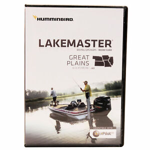 Humminbird Lakemaster Great Plains Chart microSD/SD Card Version v6.0 HCILIA6