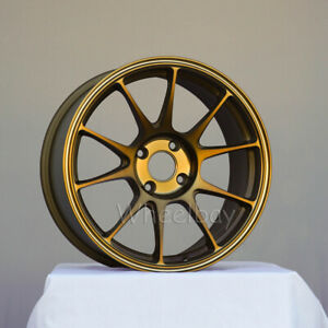 4 Rota Wheel Titan 17x8 4x108 40 73 Frsb Ford Focus 17 Lbs Last Set