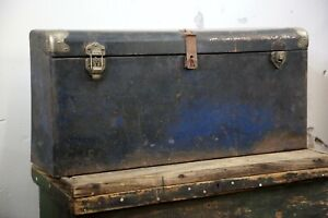 Antique Auto Trunk Ford Model A T Luggage Carrier Tool Chest Vintage Car Rack